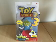 TOY STORY 3 POPPIN' ALIEN DELUXE ACTION FIGURE BRAND NEW RARE MATTEL 2009