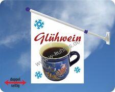 Flagge, Glühwein, Weihnachtsmarkt, Punsch, Heißgetränk, Werbefahne