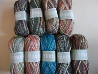 5 x 100g Sirdar Tundra Super Chunky Wool/Yarn for Knitting/Crochet