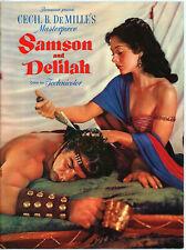 Samson and Delilah •  Original 1949 Movie Program • Lamarr, Mature • Dir DeMille