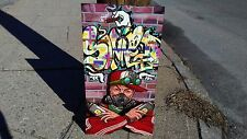 Original 3D painting/sculpture-graffiti graf spraypaint hip-hop urban b-boy new