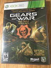 Gears of War Triple Pack (Microsoft Xbox 360, 2011)