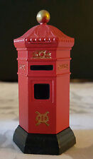 "Dept 56 HERITAGE VILLAGE COLLECTION, ""English Post Box"", Retired 2000, Mint"
