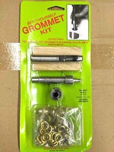 """Grommet Kit 1/4"""" Brass Grommets"""