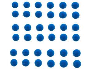 E-Deals 70mm Soft Foam/Sponge Balls - Pack of 36 Blue