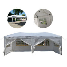 10'x 20' EZ POP UP Party Tent Wedding Gazebo Canopy Marquee 6 Walls Outdoor