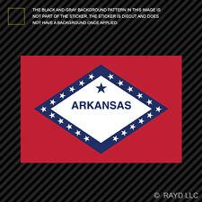 "4"" Arkansas Flag Sticker Decal Self Adhesive Vinyl state the natural land"