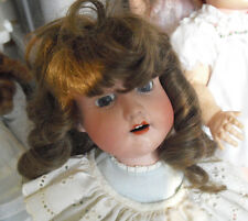 "Antique MB Japan 4 Morimura Bros Bisque Composition Girl Doll 18"" Tall"