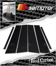 CARBON FIBER B DOOR PILLAR PANEL TRIM COVERS for MAZDA 5 Mazda5 2006-2010