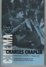 L'AVANT-SCENE n°219/220 Hommage à CHARLES Charlie CHAPLIN 1978