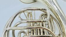 Used Hilton Double French Horn H379 with case