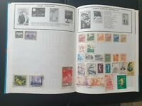 stamps album trans world china . DDR ,mint, used, 600++