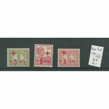 Ned. Indië 135-137 Rode Kruis MNH/postfris  CV 60 €