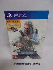 THE WITCHER III WILD HUNT HEARTS OF STONE LIMITED - SONY PS4 - NEW - PAL VERSION