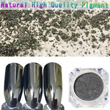 Mirror Black Nail Powder Born Pretty Nail Art Chrome Pigment Glitter Dust 1G