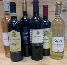 Holiday Special 6 Bottles Of Wine Assorted