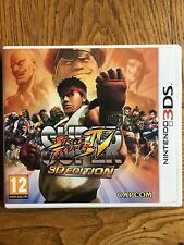 Super Street Fighter 4 3D Edition (sin Sellar) -! nuevo! versión 3 DS Reino Unido