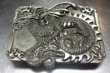 REAL MADE IN USA Collectable Vintage New Condition Siskiyou Dragon Belt Buckle