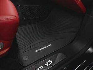 NEW Genuine Porsche 991 Carrera Noir Main Droite Drive RHD Tapis de sol