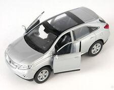 BLITZ VERSAND Lexus RX 450 H silber / silver Welly Modell Auto 1:34 NEU & OVP