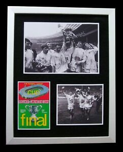 SWINDON TOWN 1969 LEAGUE CUP FINAL LTD Numbered FRAMED+EXPRESS GLOBAL SHIPPING