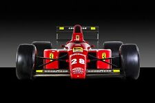 Ferrari F1 Formula One Automotive Car Wall Art Giclee Canvas Print Photo (218)
