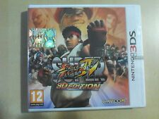 SUPER STREET FIGHTER IV 3D EDITION NINTENDO 3DS NUOVO