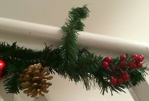 Pack 10 Garland Ties Tight Secure Garlands Swags Vintage Christmas Decorations