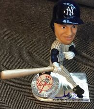 JOHNNY DAMON SIGNED BOBBLEHEAD NEW YORK YANKEES, 2006 Forever Collectibles W/COA