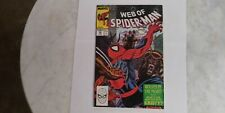 """Spider-Man #53 1989 """"Wolves In The Night"""" High Grade Refer To Pictures"""