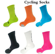 new Unisex Bike Bicycle Cycling Riding Breathable Cycling Socks Footwear