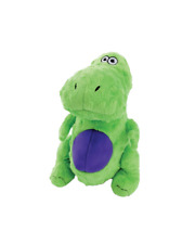 Dinos with Chew Guard Technology Durable Plush Dog Toys with Squeakers