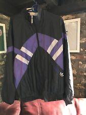 Adidas 90s Vintage Retro Shell Jacket-Talla S Pequeño 34/36 Cazadora