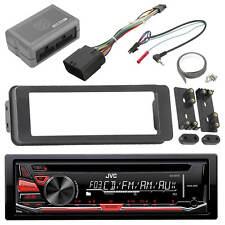Harley Single DIN 98-2013 Installation Adapter Kit,JVC USB AM FM CD Mp3 Receiver