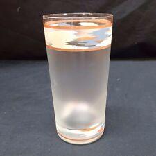 Noritake Design Raindance Glass Short Glassware Tumbler Southwest 10 oz Vintage