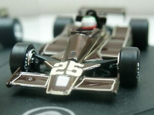 WOW EXTREMELY RARE Lotus 78 Ford Rebaque 1st pnt Germany 1978 1:43 Quartzo-Spark