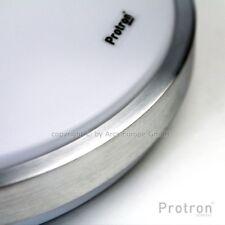 Protron LED SMD Alu Deckenleuchte Ø 41cm 24w Deckenlampe Bad Flur Küche Warmweiß
