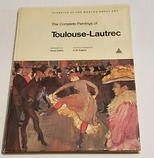 The Complete Paintings of Toulouse Lautrec Denys Sutton GM Sugana Hardcover book