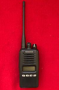 KENWOOD NX-320-K5 UHF 450-512 Mhz NEXEDGE Portable Radio With New Battery.