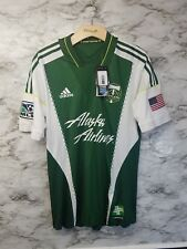 PORTLAND TIMBERS MLS SOCCER JERSEY ADIDAS MENS Sz M New Formotion 120$