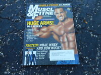 AUG 2007 MUSCLE & FITNESS magazine - ARNOLD SCHWARZENEGGER interview