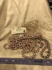 Vintage Lot Of Delta Trim A Tree Mercury Glass Bead Garland