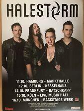 HALESTORM  2018  TOUR  - orig.Concert Poster -- Konzert Plakat  A1 NEU