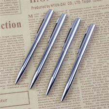 1Pcs Mini Metal Durable Ballpoint Pen Rotating Pocket-size