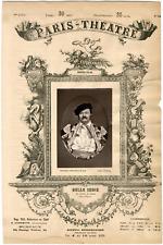 Lemercier et Cie, Paris-Théâtre, Enrico Augusto Delle Sedie (1822-1907), chanteu