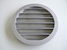 Wetterschutzgitter rund aus Aluminium Lüftung NW 100 mm für Zuluft und Abluft
