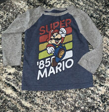 Super Mario Shirt Pre owned 3T