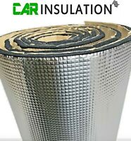1.5m² Car Van Boat Insulation Sound Proofing Closed Cell Foam Heat GlassMAT™ GR