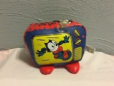 Felix The Cat~1990s Good Stuff Hanging Novelty~Tv~Suction Cup Arcade Toy~New