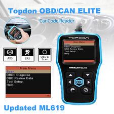 Obd2 Fault Code Scanner Reader Engine Diagnostic For1996 OBDII Compliant Car
